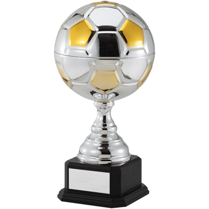 Silver & Gold Soccer Cup