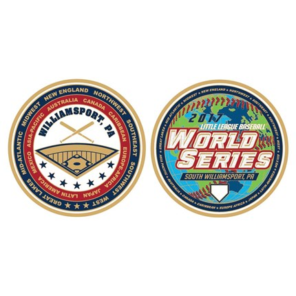 LITTLE LEAGUE WORLD SERIES-WS COIN 2017