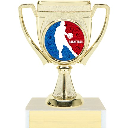 Victory Cup Insert Trophy Series - Basketball