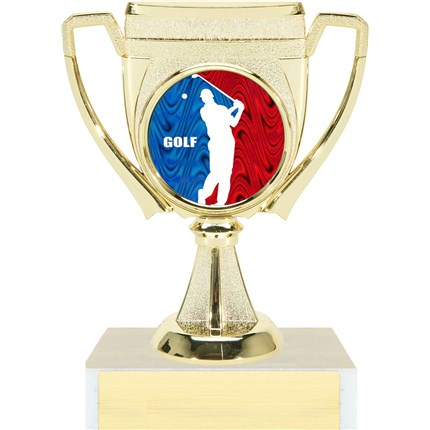 Victory Cup Insert Trophy Series - Golf