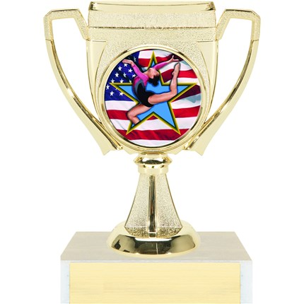 Victory Cup Insert Trophy Series - Gymnastics