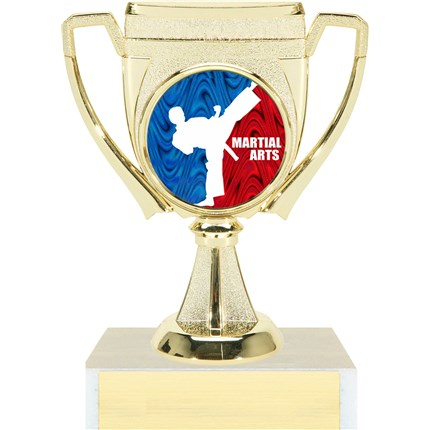 Victory Cup Insert Trophy Series - Karate