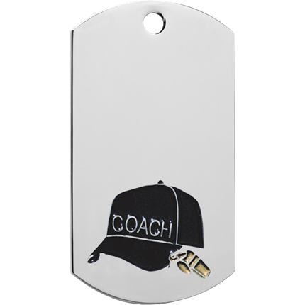 Chrome Dog Tag Series - Coach