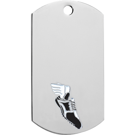 Chrome Dog Tag Series - Track
