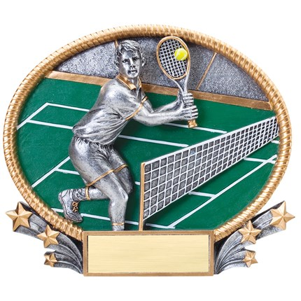 3D POPOUT OVAL RESIN SERIES - TENNIS, M