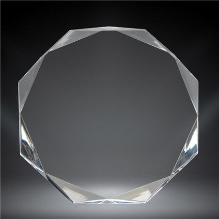 Octogon Acrylic Recognition Award