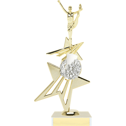 Sport Riser Trophy Series - Cheer