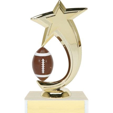 Shooting Star Spinner Trophy Series - Football