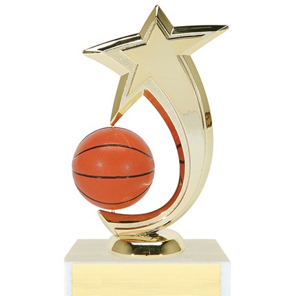 Shooting Star Spinner Trophy Series - Basketball