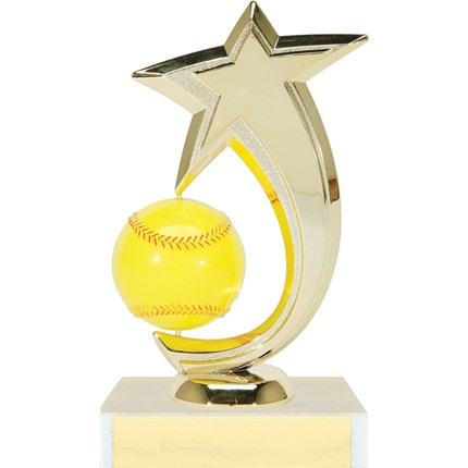 Shooting Star Spinner Trophy Series - Softball
