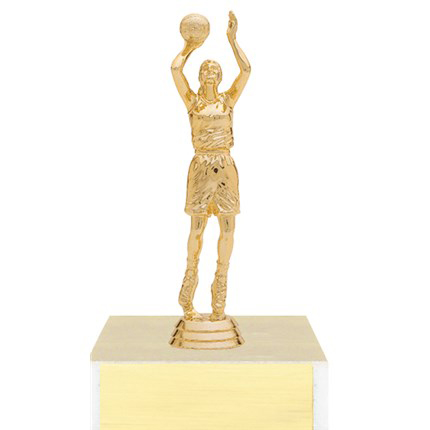 Figure on Base Trophy Series - Basketball