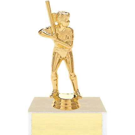 Figure on Base Trophy Series - Softball