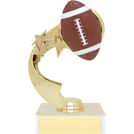 Ribbon Star Figure Trophy Series - Football