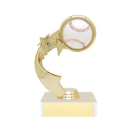 Ribbon Star Figure Trophy Series - Baseball