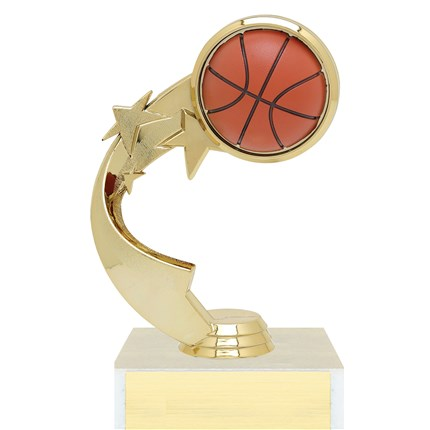 Ribbon Star Figure Trophy Series - Basketball