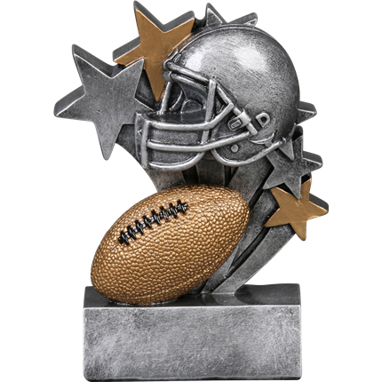 Star Blast Resin Series - Football