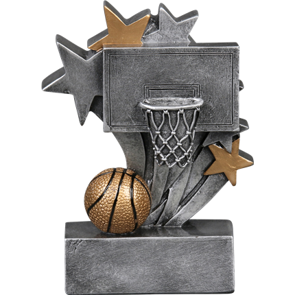 Star Blast Resin Series - Basketball