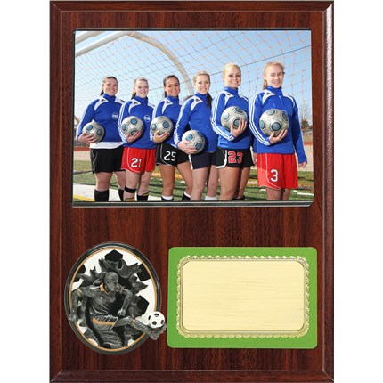 Resin Plaque Series - Soccer - Male