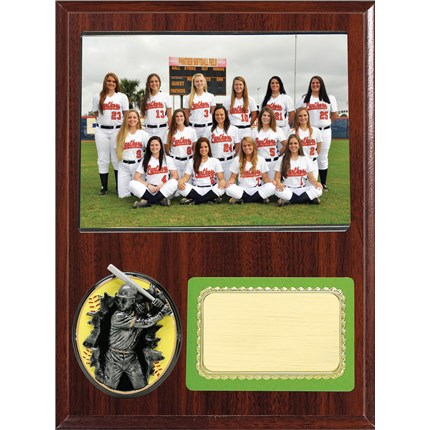 Team Picture Plaque Series - Softball