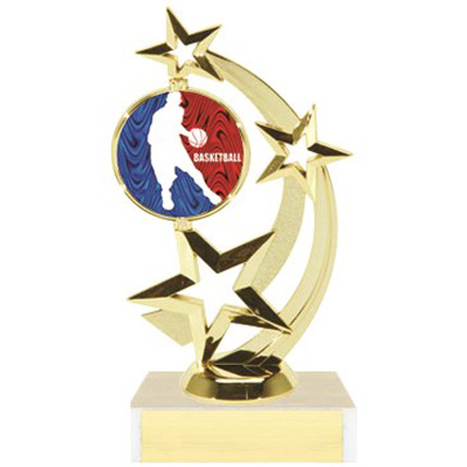 Astro Star Figure Trophy Series - Basketball