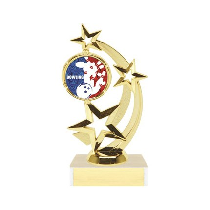 Astro Star Figure Trophy Series - Bowling