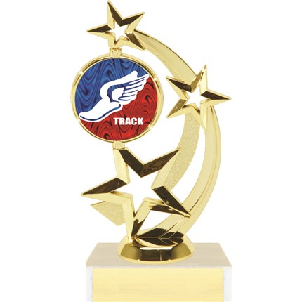 Astro Star Figure Trophy Series - Track
