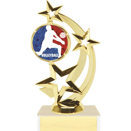 Astro Star Figure Trophy Series - Volleyball