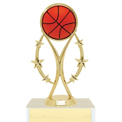 Color Sport Figure Trophy Series - Basketball