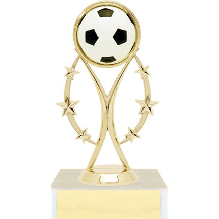 Color Sport Figure Trophy Series - Soccer