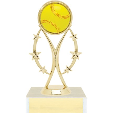 Color Sport Figure Trophy Series - Softball