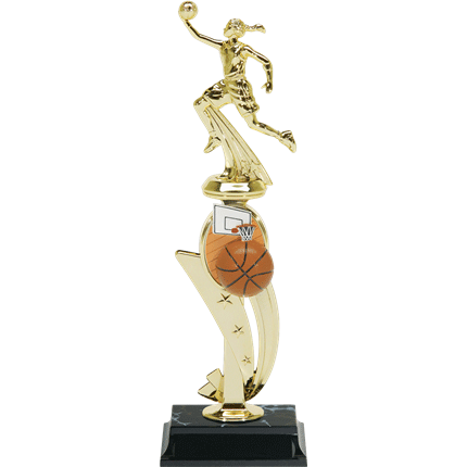 Color Scene Trophy Series - Basketball, F