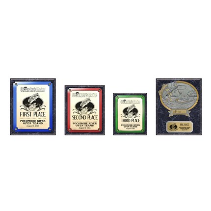 US Angler's Choice Plaque Series - Package 1 - Marble