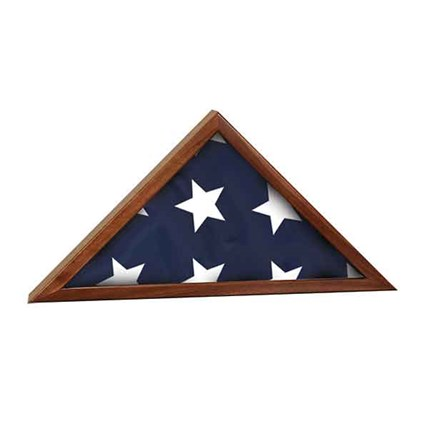 GENUINE WALNUT FLAG CASES