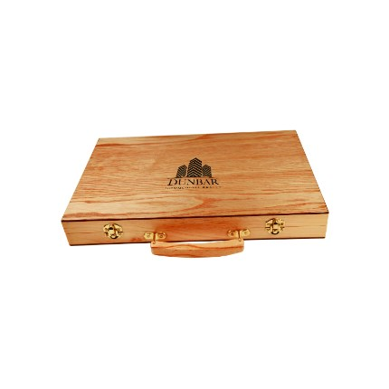LASERABLE BACKGAMMON SET - BACKGAMMON