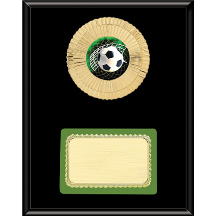 Mylar Plaque Mount Series - Soccer