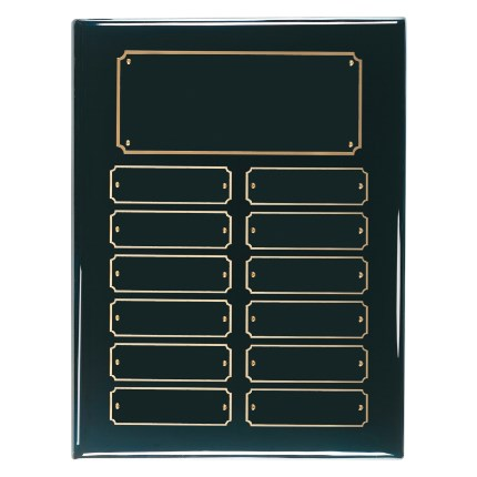 Black Piano Finish Plaque Series -  Perpetual