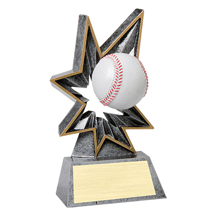 BOBBLE ACTION RESIN SERIES - BASEBALL