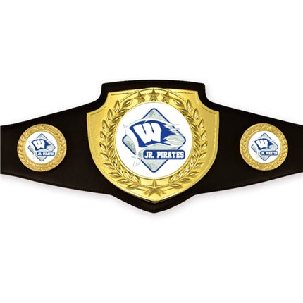 Championship Belt Series - Custom Art (Bright Gold)