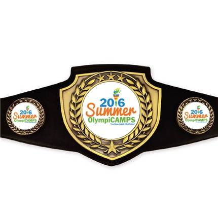 Championship Belt Series - Custom Art (Antique Gold)