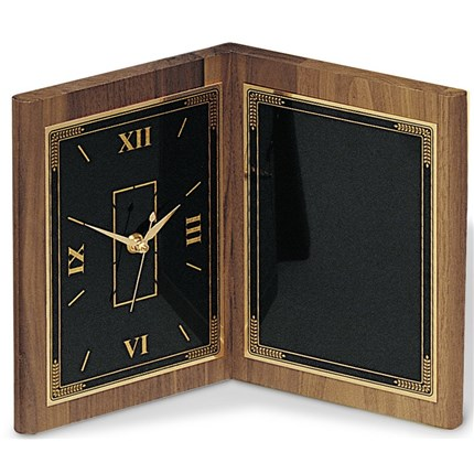 CLOCK - WALNUT