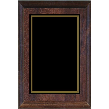 CLOSEOUT LASER PLAQUE - WALNUT