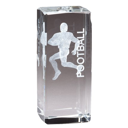 COLLEGIATE SERIES GLASS - FOOTBALL