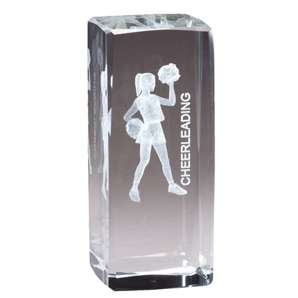 COLLEGIATE SERIES GLASS - CHEERLEADING