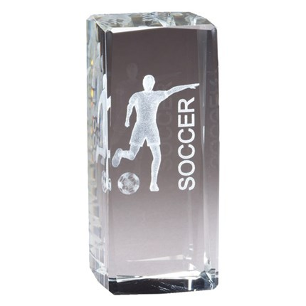 COLLEGIATE SERIES GLASS - SOCCER, F