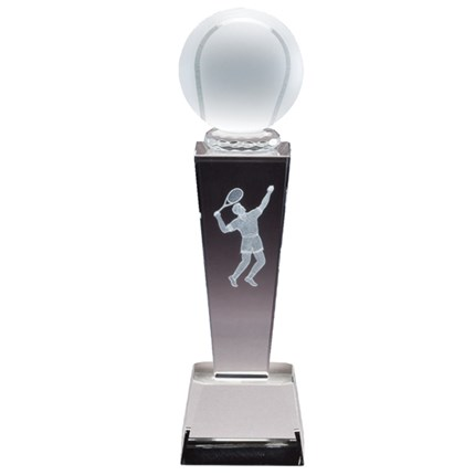 COLLEGIATE SERIES GLASS - MALE/FEMALE TENNIS