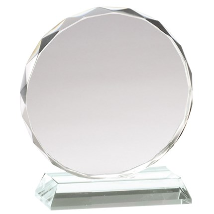 GLASS PAPERWEIGHT AWARD