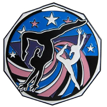 Decagon Colored Series - Gymnastics Female