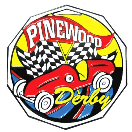 Decagon Colored Series - Pinewood Derby