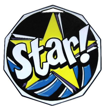 Decagon Colored Series - Star