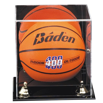 MIRRORED DISPLAY CASE - BASKETBALL